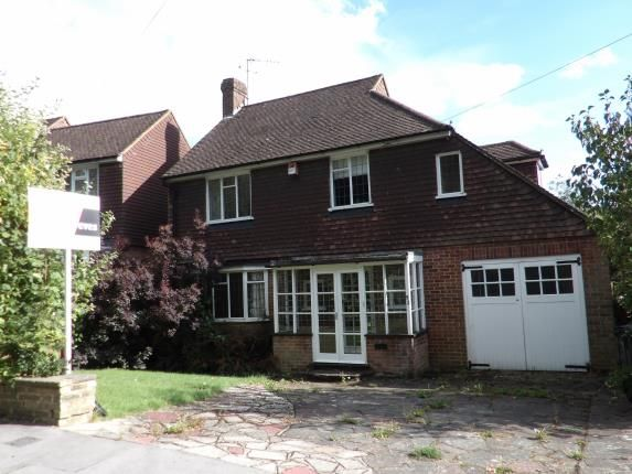 Thumbnail Detached house for sale in Ballards Way, Ballards Farm, South Croydon, Surrey