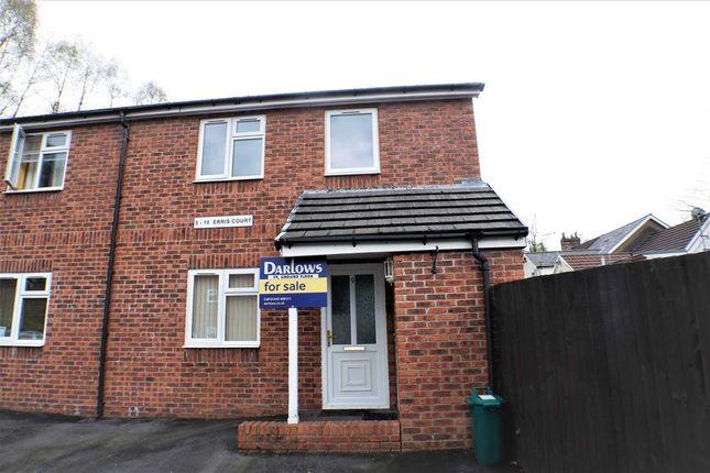 Thumbnail Flat for sale in Erris Court, Berw Road, Pontypridd