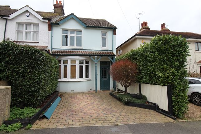 Thumbnail End terrace house for sale in First Avenue, Gillingham, Kent.