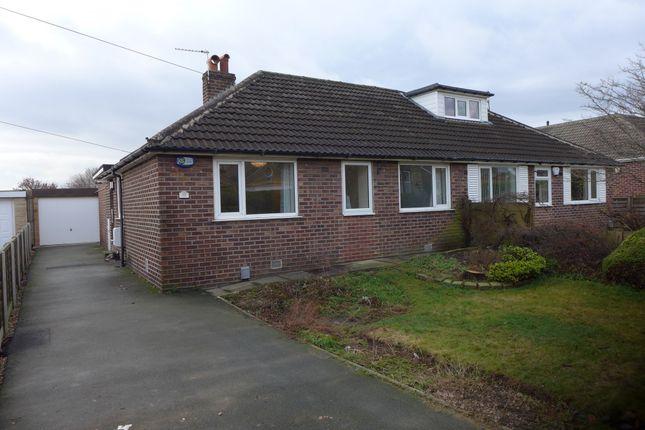 Thumbnail Bungalow to rent in Bankfield Avenue, Kirkheaton, Huddersfield, West Yorkshire