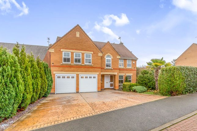 Thumbnail Detached house for sale in The Longlands, Market Harborough