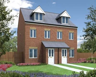 """Thumbnail Town house for sale in """"The Souter"""" at Bedale Court, Morley, Leeds"""