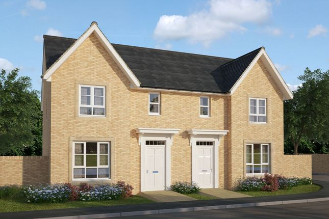 "Thumbnail Semi-detached house for sale in ""Urquhart"" at Ravenscliff Road, Motherwell"
