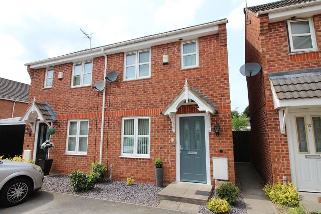 Thumbnail Semi-detached house for sale in Minkley Drive, Langley Mill, Nottingham