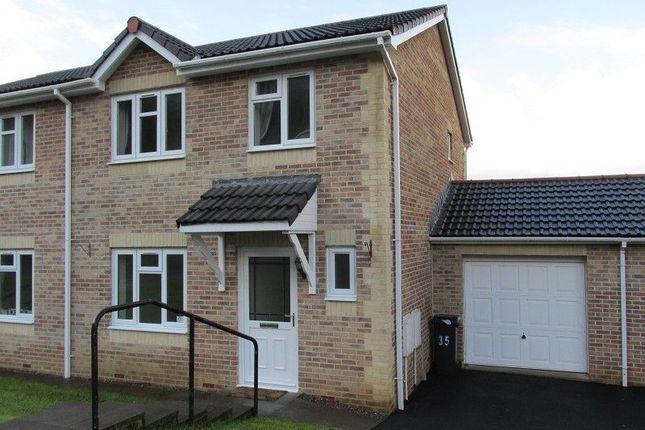 Thumbnail Semi-detached house to rent in Brynmorgrug, Alltwen, Pontardawe, Swansea.