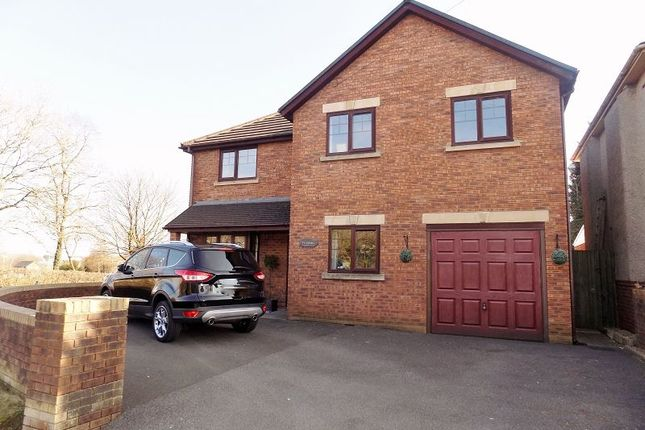 Thumbnail Detached house for sale in Ty Cornel Garfield Avenue, Litchard, Bridgend.