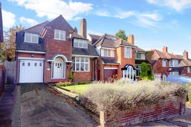 Thumbnail Detached house for sale in Leopold Avenue, Handsworth Wood, Birmingham, West Midlands