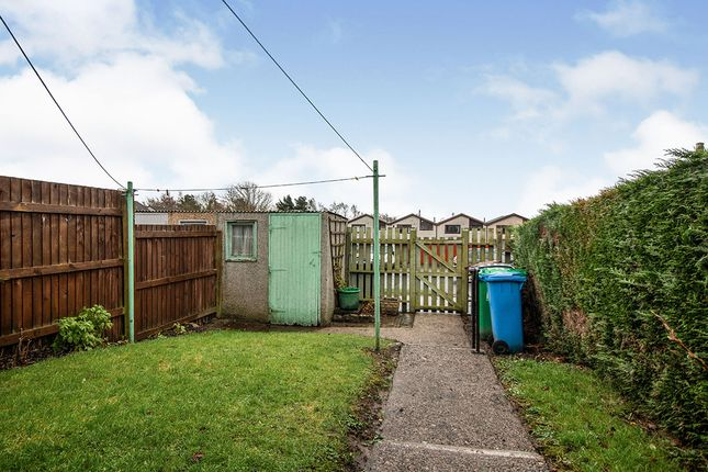 Rear Garden of Durness Court, Glenrothes, Fife KY6