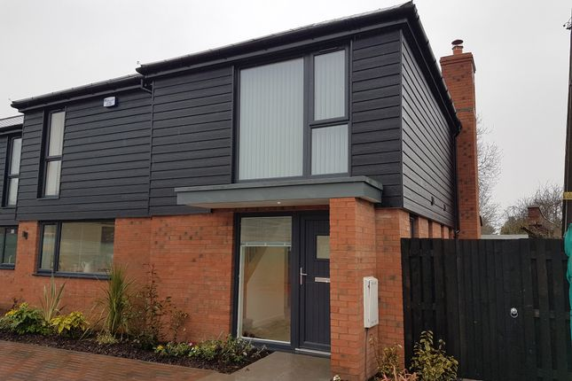 Thumbnail Detached house for sale in The Rushbury, The Crossways, Holmer, Hereford, Herefordshire