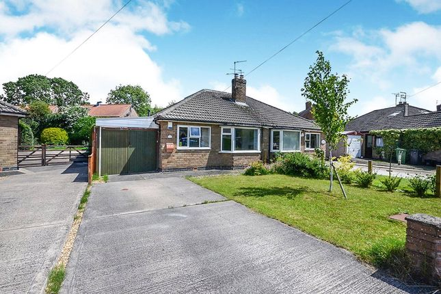 Thumbnail Bungalow for sale in Danebury Crescent, York