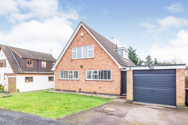 Thumbnail Detached house for sale in Mosse Way, Oadby, Leicester