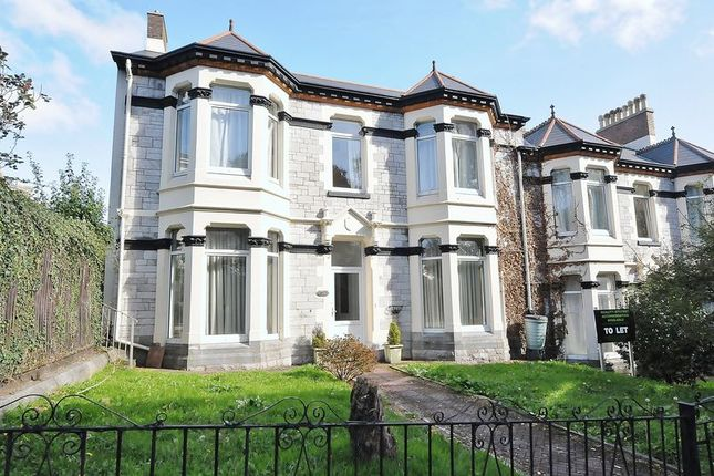 Thumbnail End terrace house for sale in Tothill Avenue, Plymouth
