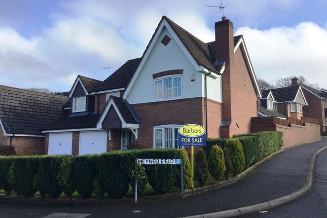 Thumbnail Detached house for sale in Meynellfield, Loggerheads, Market Drayton