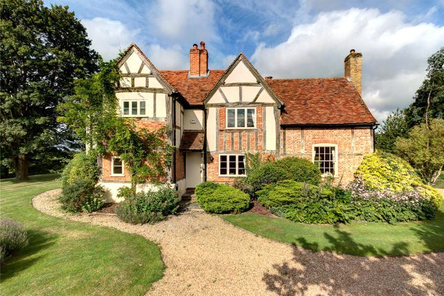 Thumbnail Detached house for sale in Smewins Road, White Waltham, Berkshire