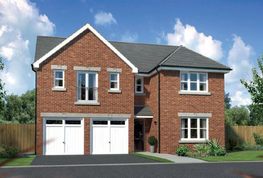 "Thumbnail Detached house for sale in ""Kingsmoor"" at Arrowe Park Road, Upton, Wirral"
