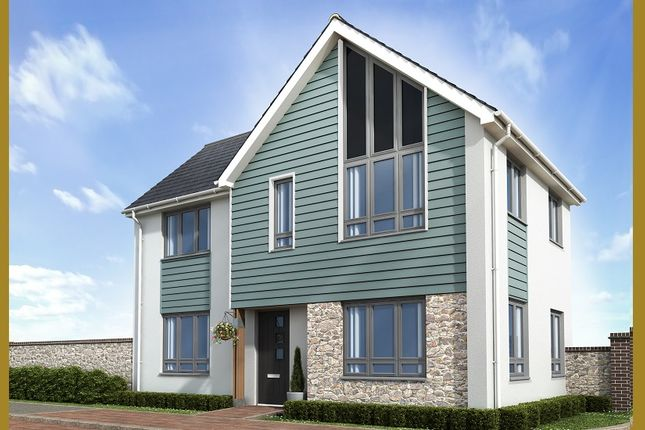 Thumbnail End terrace house for sale in The Shiphay, Plantation Way, Torquay, Devon