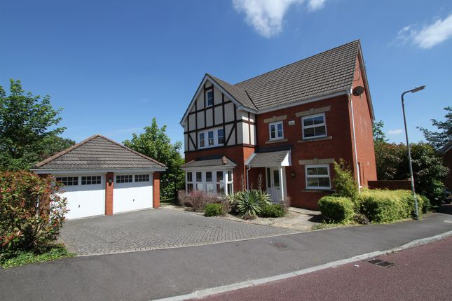 Thumbnail Detached house for sale in Nant Coch Rise, Ridgeway, Newport