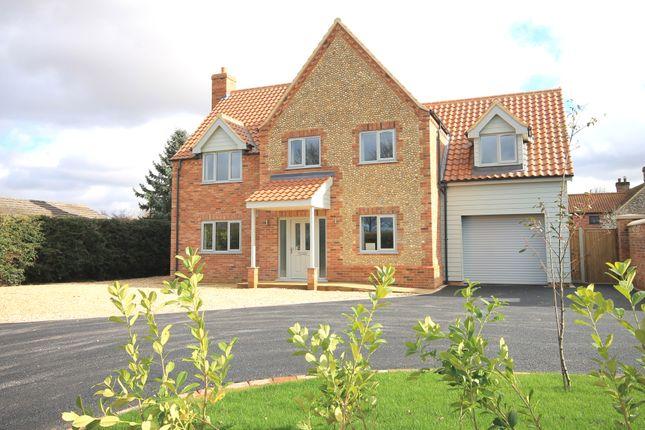 Thumbnail Detached house for sale in Gormans Lane, Colkirk, Fakenham