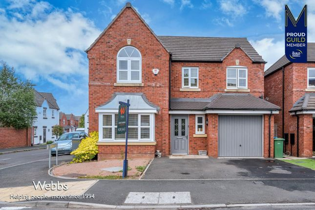 Thumbnail Detached house for sale in New Horse Road, Cheslyn Hay, Walsall