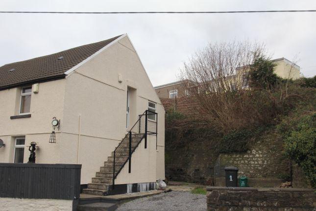 Thumbnail Flat to rent in Swansea Road, Hirwaun, Aberdare