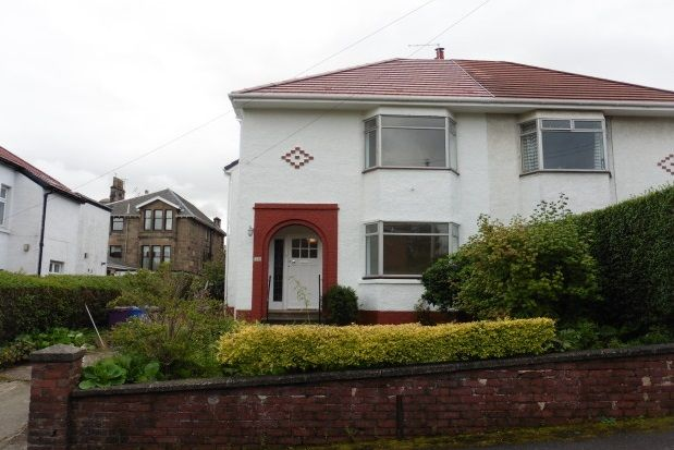 Thumbnail Semi-detached house to rent in Bradfield Avenue, Kelvinside, Glasgow