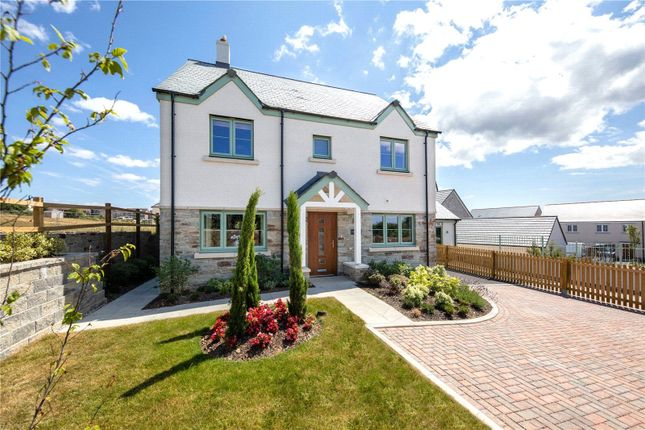 Thumbnail Detached house for sale in Trispen Meadows, Trispen, Truro