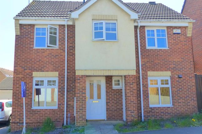 Thumbnail Detached house to rent in Curbar Close, Mansfield