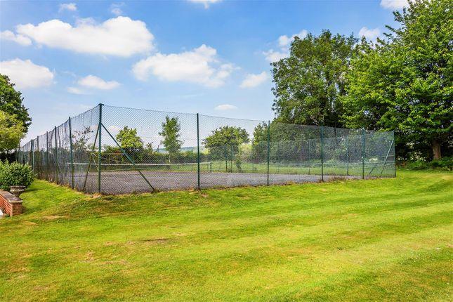 House. Estate Agency Cranleigh Tennis Court