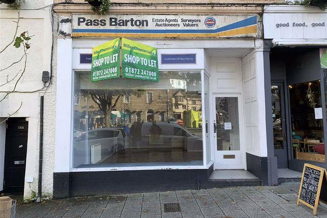 Thumbnail Retail premises to let in 15, Killigrew Street, Falmouth