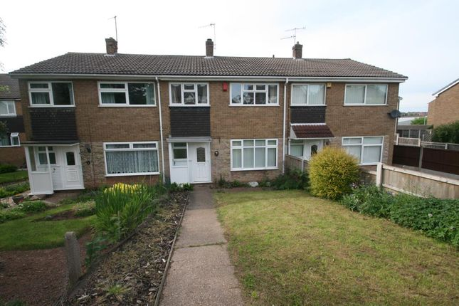 Thumbnail Town house to rent in Rolleston Drive, Arnold, Nottingham