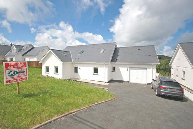 Thumbnail Detached bungalow for sale in Cwrt Fryers, Ysbyty Ystwyth, Ystrad Meurig