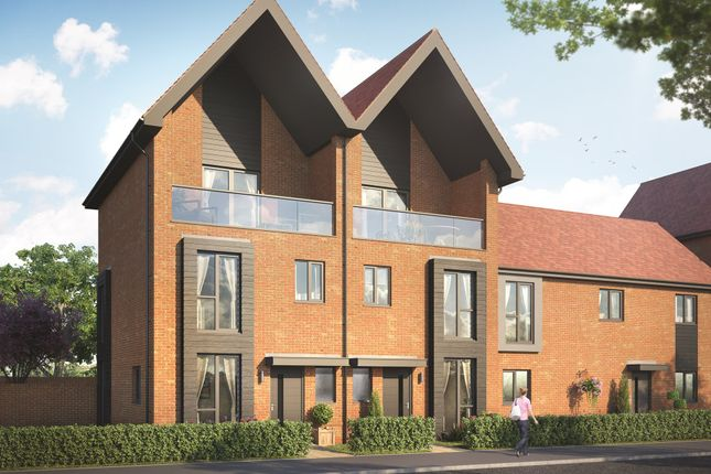 """Thumbnail Semi-detached house for sale in """"Ealing"""" at Old Wokingham Road, Crowthorne"""