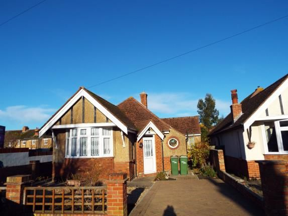 Thumbnail Bungalow for sale in Phillip Road, Cheriton, Folkestone, Kent