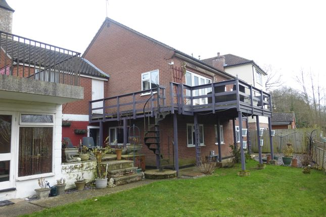 Thumbnail Detached house for sale in Bures Road, Great Cornard, Sudbury