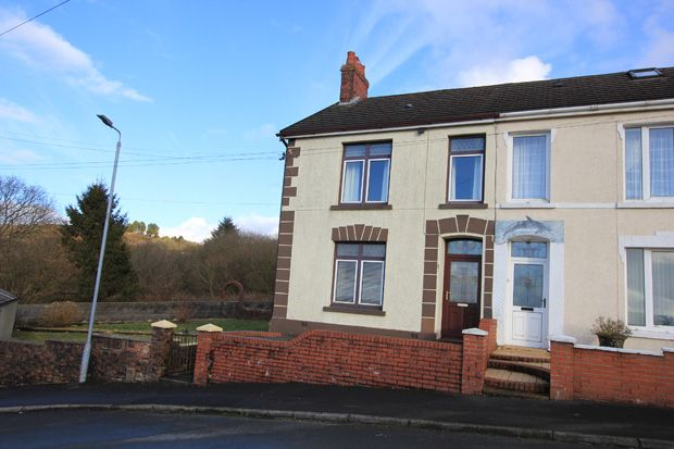 Thumbnail Semi-detached house for sale in Ty Isha Road, Tumble, Nr. Cross Hands, Carmarthenshire