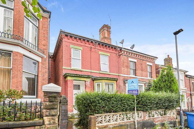 3 bed flat for sale in Swinburne Street, Derby DE1