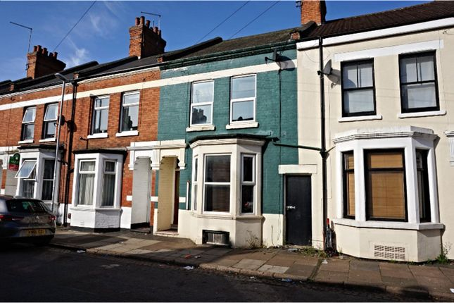 Thumbnail Terraced house to rent in Lea Road, Northampton