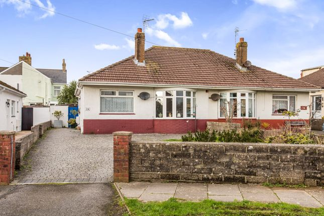 Thumbnail Semi-detached bungalow to rent in St. Michaels Road, Porthcawl