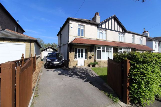Thumbnail Semi-detached house for sale in Howard Road, Lindley, Huddersfield