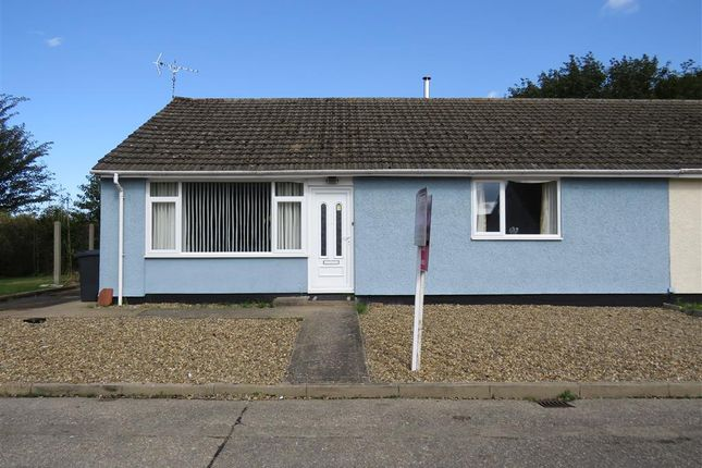 Thumbnail Semi-detached bungalow for sale in Ambleside, Wicken Green Village, Fakenham