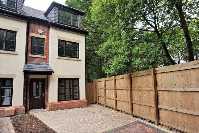 Thumbnail End terrace house to rent in Woodland Grange, Manchester