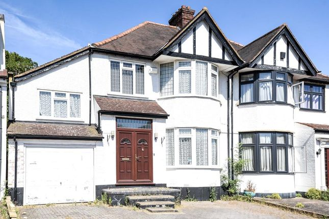 Thumbnail Semi-detached house to rent in Lake View, Edgware