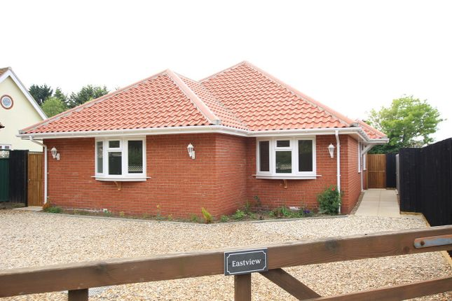 Thumbnail Detached bungalow for sale in Church Lane, Claydon, Ipswich, Suffolk