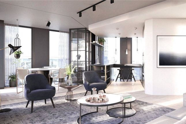 1 bed flat for sale in One Crown Place, Hackney EC2A