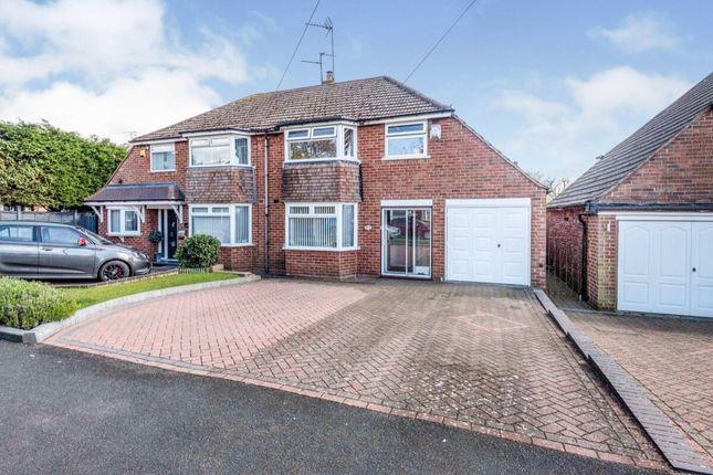 Thumbnail Semi-detached house for sale in Waseley Road, Rubery, Rednal, Birmingham