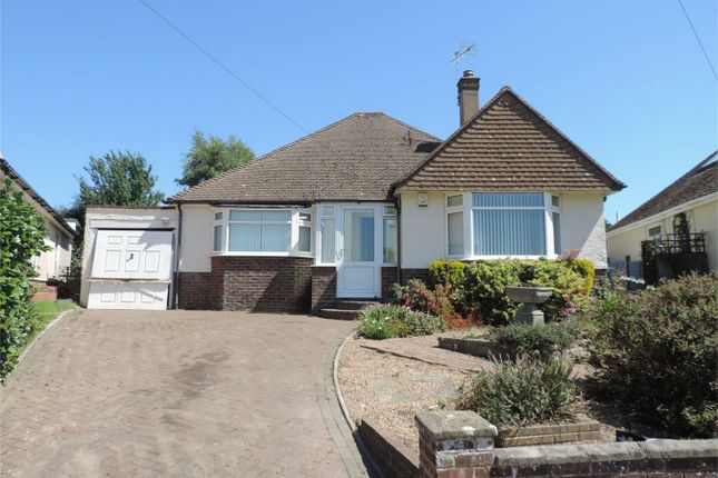 Thumbnail Detached bungalow for sale in St James Crescent, Bexhill On Sea, East Sussex