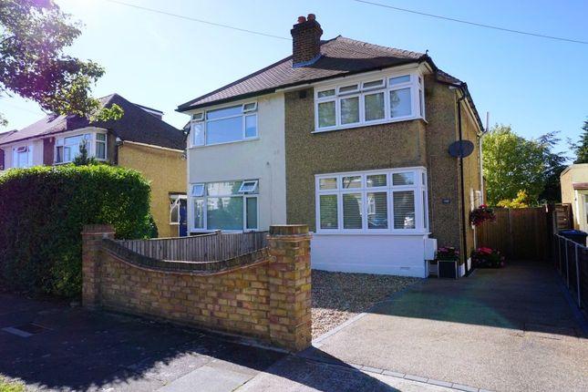 Thumbnail Semi-detached house for sale in Cedarcroft Road, Chessington