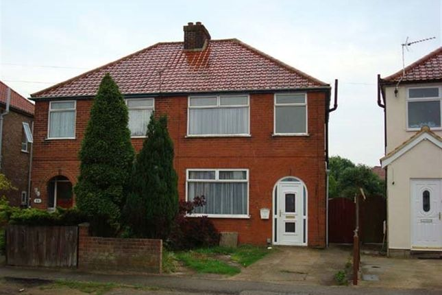 Thumbnail Semi-detached house to rent in Boyton Road, Ipswich