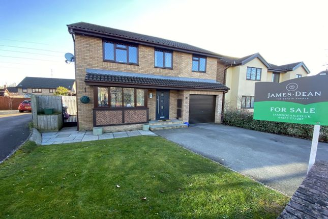 Thumbnail Detached house for sale in De Wallingford Close, Ysbytty Fields, Abergavenny