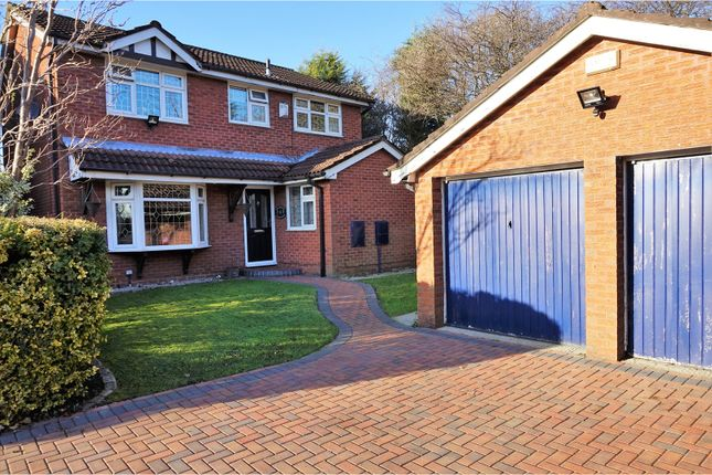 Thumbnail Detached house for sale in Wicken Bank, Heywood